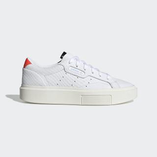 adidas Sleek Super Shoes Cloud White / Cloud White / Solar Red EF1897