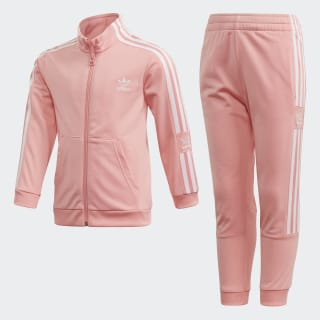 Joggingdragt Glory Pink / White FM5636