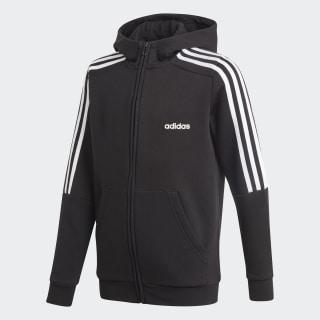 Jaqueta Com Capuz Yb Hd Fz 3S black/white EI7975