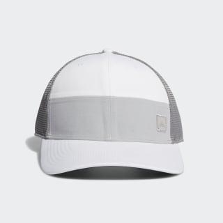 Blocked Trucker Hat White FI3127