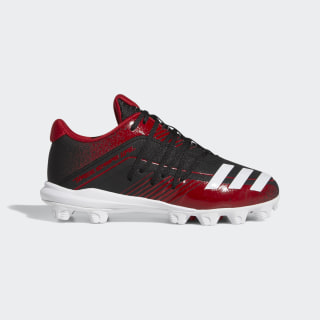Afterburner 6 Grail MD Cleats Core Black / Cloud White / Power Red G27674