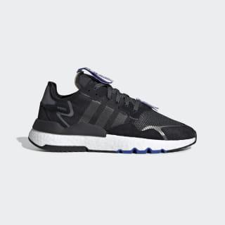 Nite Jogger Shoes Core Black / Cloud White / Hi-Res Blue EG2206