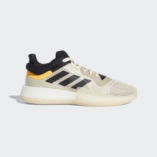 Баскетбольные кроссовки Marquee Boost Low linen / core black / flash orange F97280