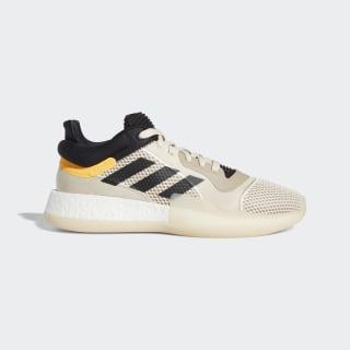 รองเท้า Marquee Boost Linen / Core Black / Flash Orange F97280