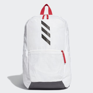 Parkhood Backpack White / Scarlet / Black FJ1126