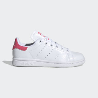 Scarpe Stan Smith Cloud White / Cloud White / Real Pink EE7573