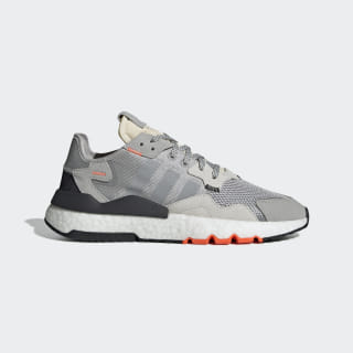 Nite Jogger Shoes Grey Two / Multi Solid Grey / Solar Orange DB3361