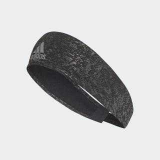 Bandeau Climalite Reflective Black / Black / Reflective Silver CF6769
