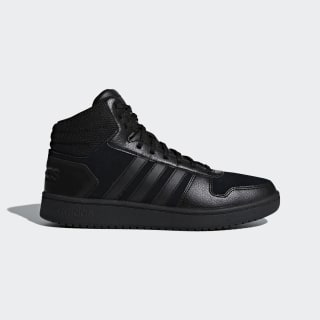 Hoops 2.0 Mid Schuh Core Black / Core Black / Core Black B44649