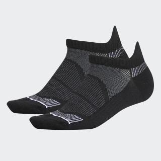 Superlite Prime Mesh No-Show Tab Socks 2 Pairs Black CK8311