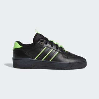 Chaussure Rivalry Low Core Black / Core Black / Solar Green EE4962