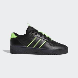 Tenis Rivalry Low Core Black / Core Black / Solar Green EE4962