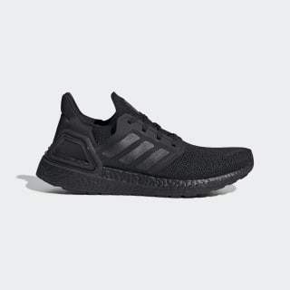 Ultraboost 20 Schuh Core Black / Core Black / Solar Red FU8498