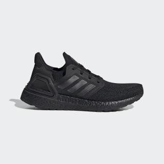Ultraboost 20 Shoes Core Black / Core Black / Solar Red FU8498