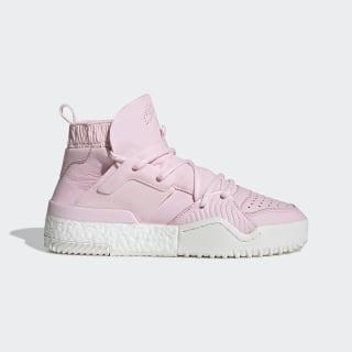 Высокие кроссовки Alexander Wang B-Ball clear pink / clear pink / core white G28225