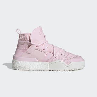 adidas Originals by AW B-Ball Shoes Clear Pink / Clear Pink / Core White G28225