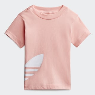 Футболка Big Trefoil Glory Pink / White FM5608