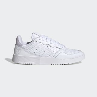 Chaussure Supercourt Cloud White / Cloud White / Purple Tint EG9053