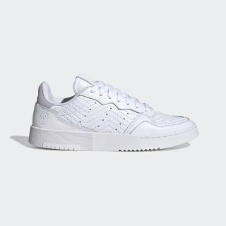 Sapatos Supercourt Cloud White / Cloud White / Purple Tint EG9053
