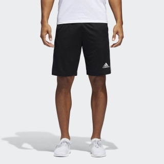 Shorts D2M 3-Stripes BLACK/WHITE BP9111