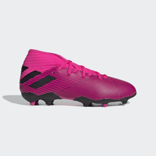 Bota de fútbol Nemeziz 19.3 césped natural seco Shock Pink / Core Black / Shock Pink F99953