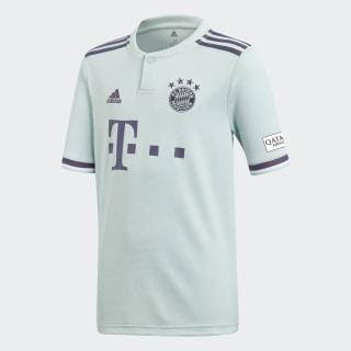 Camiseta de Visitante FC Bayern ASH GREEN S18/TRACE PURPLE S18/WHITE CF5396
