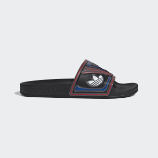 Adilette sandaler Core Black / Grey Six / Collegiate Royal EE6177