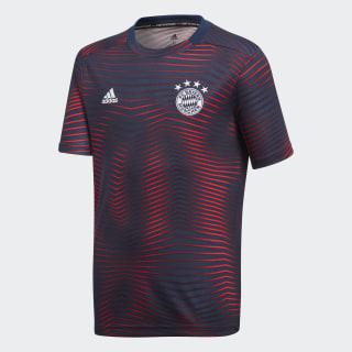 Camiseta calentamiento primera equipación FC Bayern Collegiate Navy / Fcb True Red DP3687