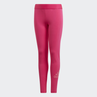 Must Haves Badge of Sport Tights Real Magenta / Semi Solar Pink DV0331