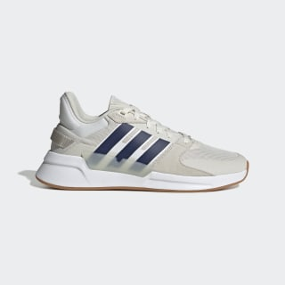 Chaussure Run 90s Cloud White / Dark Blue / Raw White EF0191