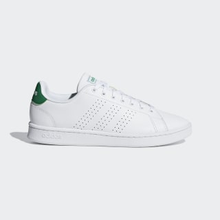 Advantage Shoes Ftwr White / Ftwr White / Green F36424