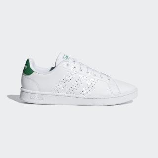 รองเท้า Advantage Cloud White / Cloud White / Green F36424