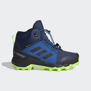 Terrex Mid GORE-TEX Hiking Shoes Tech Indigo / Core Black / Signal Green EF2248