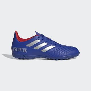 Zapatos de Fútbol Predator Tango 19.4 Césped Artificial Bold Blue / Silver Metallic / Active Red BB9085