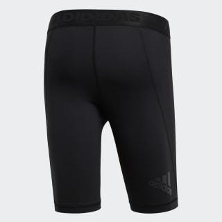 Adidas Sporthose kurze Hose schwarzorange Größe 128 clima cool