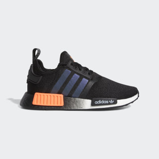 NMD_R1 Schoenen Core Black / Solar Orange / Cloud White FW0186
