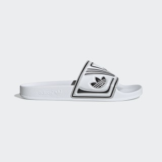 Adilette Slides Cloud White / Chalk White / Core Black EE6178