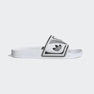 Adilette sandaler Cloud White / Chalk White / Core Black EE6178