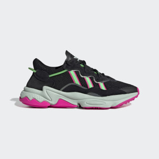 Chaussure OZWEEGO Core Black / Shock Lime / Shock Pink EE5714