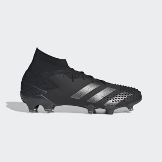 Scarpe da calcio Predator Mutator 20.1 Firm Ground Core Black / Core Black / Silver Metallic EF1612