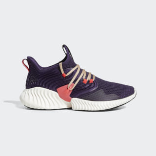 Alphabounce Instinct Clima Shoes Legend Purple / Pale Nude / Shock Red F35396