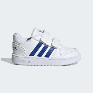 Hoops 2.0 Shoes Cloud White / Team Royal Blue / Cloud White EG3784