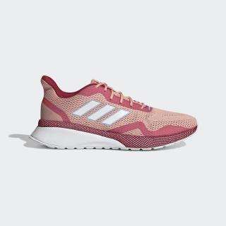 Nova Run X Shoes Glow Pink / Cloud White / Active Maroon EE9927