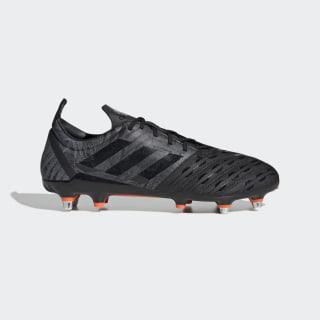 Zapatos de Rugby Malice Terreno Suave core black/core black/solar orange F36355