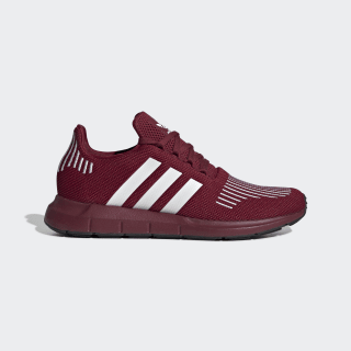 Swift Run Shoes Collegiate Burgundy / Cloud White / Core Black EE4446