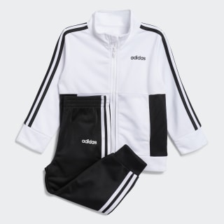 Logo Jacket Jogger Set White CM6702