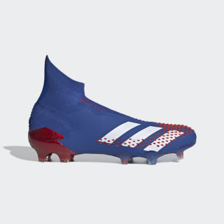 Bota de fútbol Predator Mutator 20+ césped natural seco Team Royal Blue / Cloud White / Active Red EG1512