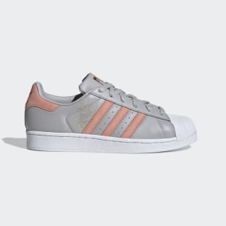 Tenis SUPERSTAR W grey two f17 / trace pink f17 / ftwr white CG5994