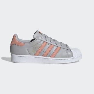 Tênis Superstar W grey two f17 / trace pink f17 / ftwr white CG5994