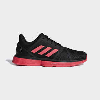 CourtJam Bounce Schuh Core Black / Shock Red / Ftwr White CG6328